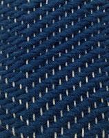 Grusskarte Wolle blau