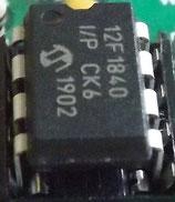 KB-2 Keyer / Beacon microcontroller chip programmed.