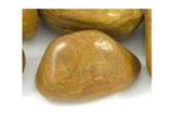 Jaspis (gelb) Trommelstein