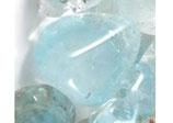 Topas (blau) Trommelstein