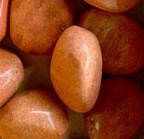 Jaspis (orange) Trommelstein