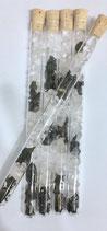 Stein Wasser - Edelschungit mit Bergkristall