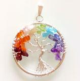 Chakrastein Anhänger (Baum des Lebens)