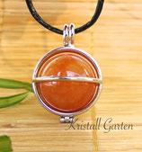 Aventurin (orange) Kugelanhänger