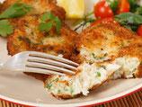 Fischfilet mit Kartoffelsalat und Remoulade