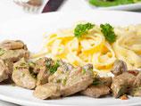 Sauerbraten, Spätzle und Salat