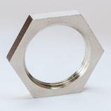 M 50 x 1,5 Nickel Gegenmutter