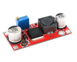 XL6009 aanpasbaar step-up (DC/DC 3-32V to 5-35V )