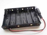 Batterijhouder 9 volt,6 cellen van 1.5 volt