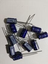 Condensator 100 uf 50V (10 stuks,elektrolytisch)