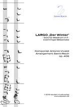 """""""LARGO aus """"Der Winter - Die vier Jahreszeiten"""" (4-stimmiger Bläsersatz)"""