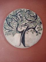 """große Wandkeramik """"Lebensbaum"""" momentan ausverkauft, bald wieder vorrätig"""