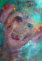 Postkarte Gesicht 1