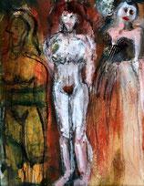 Postkarte 3 Frauen