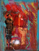 Postkarte Disco