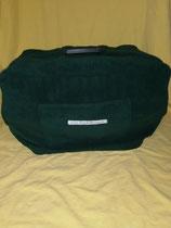 Größe 2  einfarbig dunkel grün