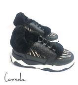 MOU eskimo lace up trainer shoe rcbk