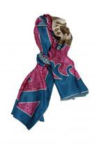 Pañuelo rectangular seda Jollywoods
