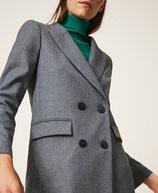Chaqueta blazer de lana mixta lurez TwinSet Milano