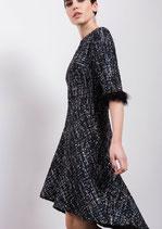 Vestido Tweed con lentejuelas