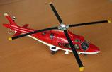 Hélicoptère Agusta A109E Power - Rouge