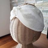 オリジナルヘアターバン ホワイト