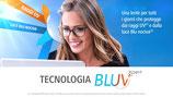 Coppia di lenti oftalmiche Galileo Bluv  Expert  indice di rifrazione 1.5 (Standard)