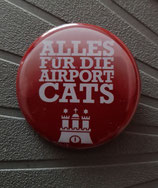 Button Alles für die Airport Cats HH Logo 37mm