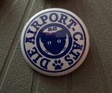 Button AC Logo blau 37mm