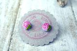 Ohrstecker Blümchen rosa