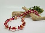 Halskette rosa-gold