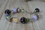 Armband violett-lila-grün
