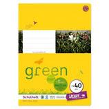 URSUS Green Format-X Heft FX40 A4 40 Blatt glatt