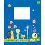 URSUS FORMATI Creativheft C1 Quart 20 Blatt liniert 6/6/6 mm