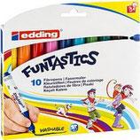 EDDING Faserschreiber 14 Funtastics 10er
