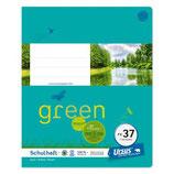 URSUS Green Format-X Heft FX37 Quart 20 Blatt kariert 7 mm