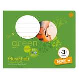 URSUS GREEN Notenheft FX3c 8 Blatt