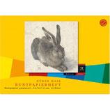 DÜRER HASE Buntpapierheft 82 g/m² 12 Blatt farbig sortiert