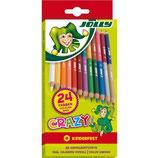 JOLLY Doppelbuntstift 3000 Superstick Crazy 12 Stück mehrere Farben