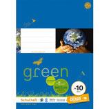URSUS GREEN Heft FX10 A4 20 Blatt glatt