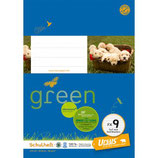 URSUS GREEN Heft FX9 A5 20 Blatt hochkariert 5x7 mm