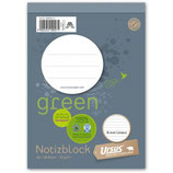 URSUS GREEN Block A6 liniert 8mm 70 g/m² 48 Blatt