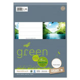 URSUS GREEN Block A4 liniert 9mm 70g/m² 48 Blatt