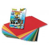 FOLIA Zeichenblock Naturpapier A4 und A3 mehrere Farben