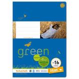 URSUS GREEN Heft FX16 A4 20 Blatt hochkariert 4 x 9 mm