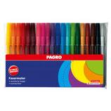 PAGRO Fasermaler 20 bzw 30 Stück mehrere Farben