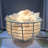Metal Fire Bowl (WHITE)