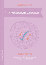Affirmation Creator Mini action Pad