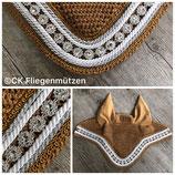 """Nr. 39: Fliegenmütze Modell """"Classic Dressage"""" camel"""