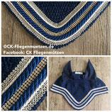 """Nr. 21: Fliegenmütze Modell """"Classic Dressage Exclusive"""" marine (navy)"""